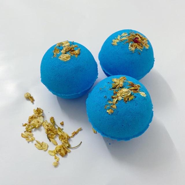 Bom tắm hoa lài (Jasmine Bath Bomb) Viên thả bồn