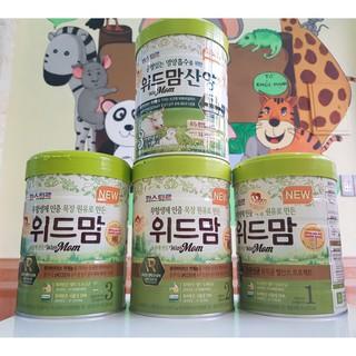Sữa With Mom Bò 750g Hàn Quốc date T4/2021 hàng cty