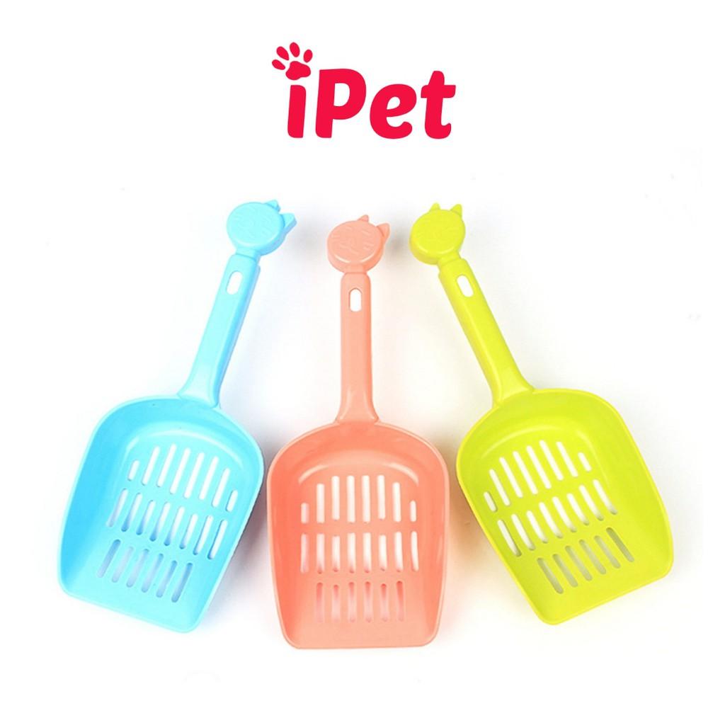 Xẻng Xúc Cát Vệ Sinh Hốt Phân Cho Mèo - iPet Shop