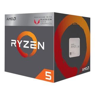 CPU AMD Ryzen 5 2400G - Hàng chính hãng BH 36 tháng thumbnail