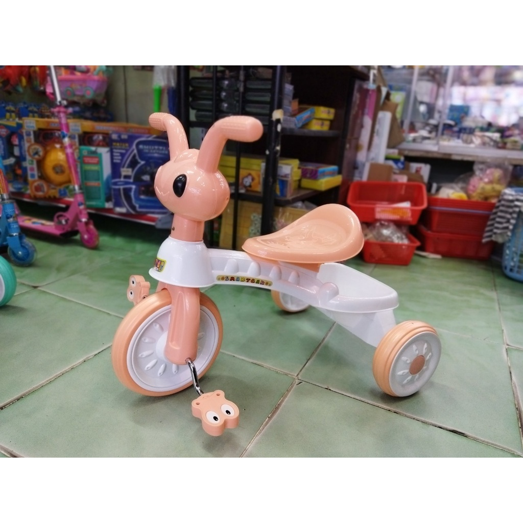 Xe chòi chân – xe 3 bánh có bàn đạp – 2 in 1 – hình CHÚ KIẾN NHỎ (không nhạc, đèn)