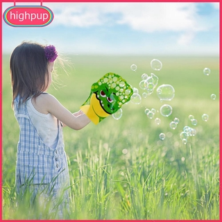 Cartoon Pattern Magic Palm Bubble Toy Colorful Bubble Blowing Glove for Kid