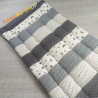 [Size Lớn] Đệm ngủ văn phòng chất liệu cotton chần gòn Kim Home size lớn cho một người 90×200 CM
