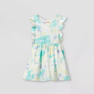 HÀNG XUẤT DƯ - Đầm thun cotton bé gái xuất xịn