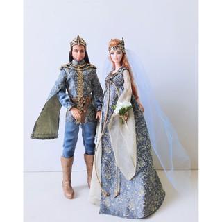 Búp bê Barbie Giftset Fairy Kingdom Wedding