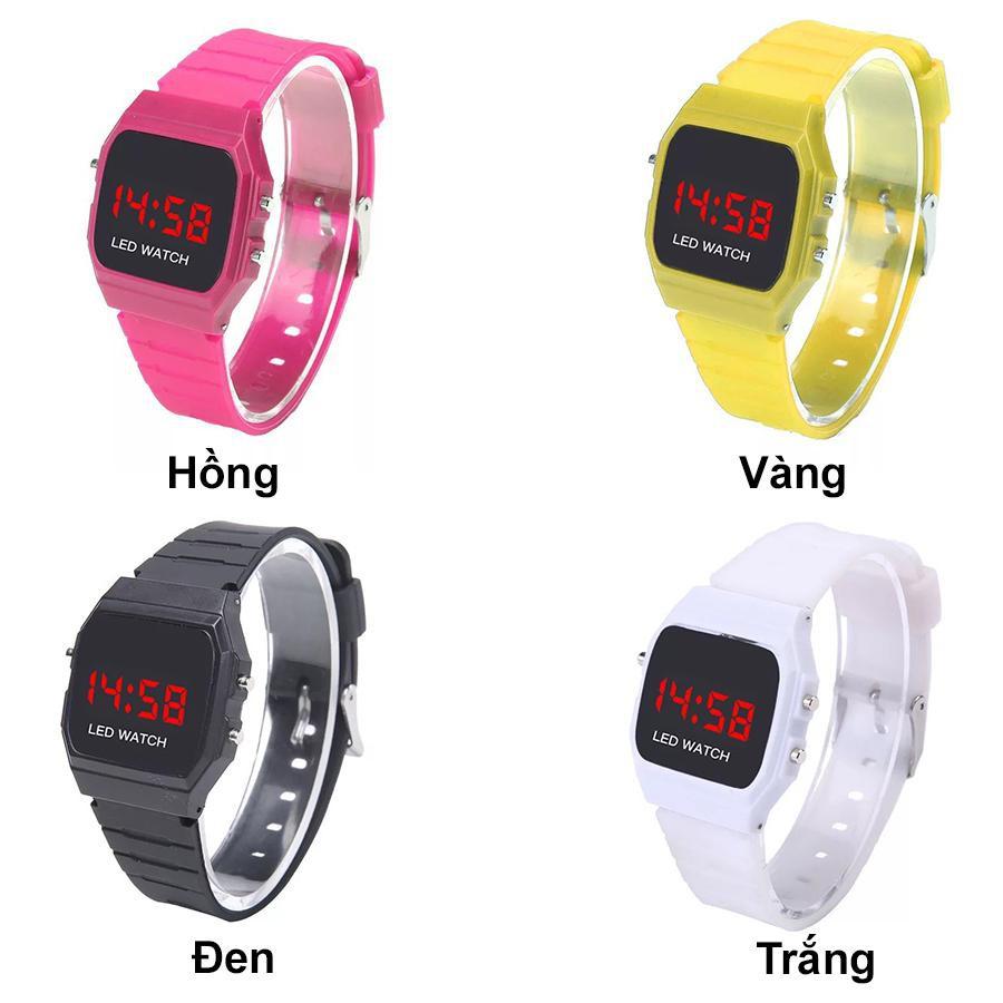 Đồng hồ thời trang nam nữ thể thao Led Wach Unisex DH90