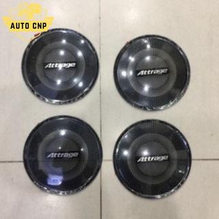 Ốp màng loa cho xe MITSUBISHI ATTRAGE chất liệu thép mạ TITAN, bảo vệ khu vực loa sạch sẽ không bụi bặm AUTO CNP thumbnail