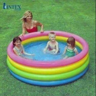 Bể bơi Intex 4 tầng