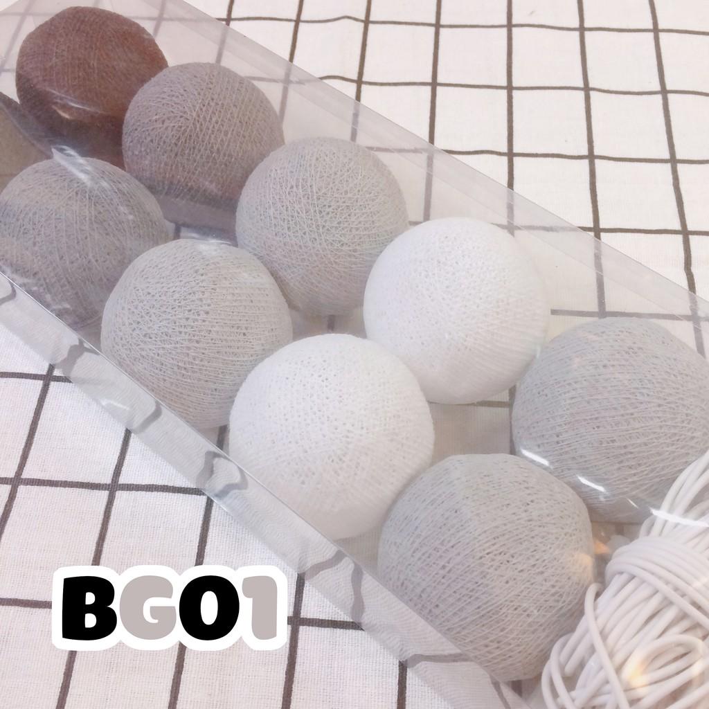 (CÓ LOẠI PIN) BG01 - Dây đèn Cotton Ball Thái Lan - 3254581 , 433339574 , 322_433339574 , 180000 , CO-LOAI-PIN-BG01-Day-den-Cotton-Ball-Thai-Lan-322_433339574 , shopee.vn , (CÓ LOẠI PIN) BG01 - Dây đèn Cotton Ball Thái Lan