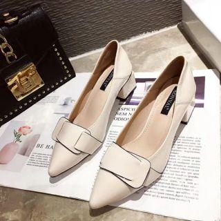 Giày công sở nữ gót vuông 5 phân
