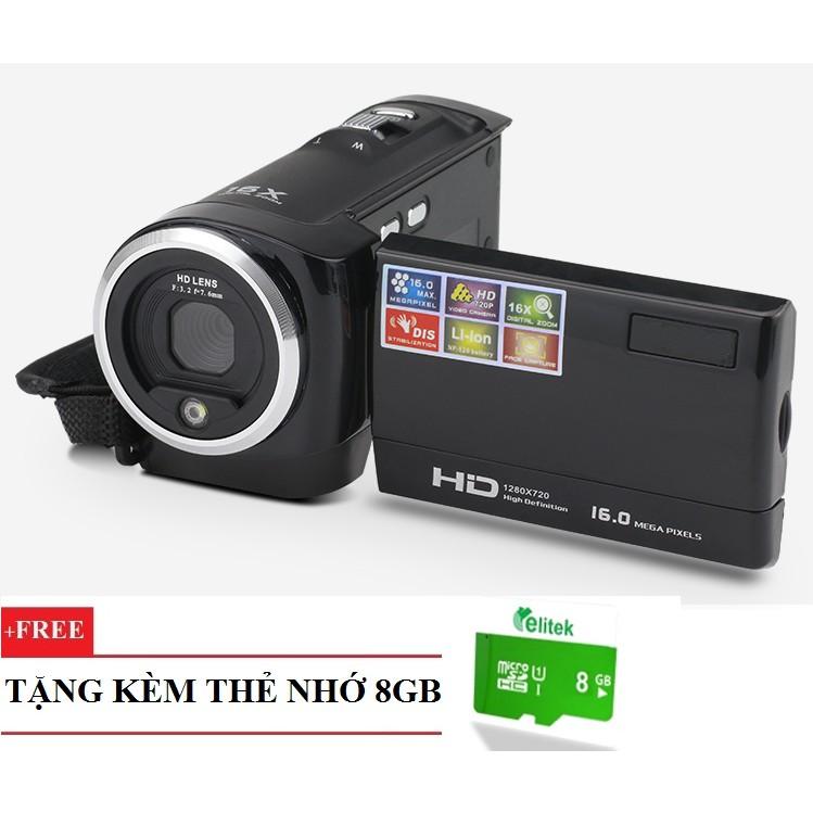 Máy quay phim cầm tay ELITEK + Tặng kèm nhớ 8GB - 2666238 , 117885482 , 322_117885482 , 729000 , May-quay-phim-cam-tay-ELITEK-Tang-kem-nho-8GB-322_117885482 , shopee.vn , Máy quay phim cầm tay ELITEK + Tặng kèm nhớ 8GB