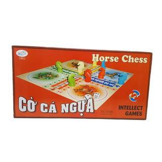 Bộ Cờ Cá Ngựa Nam Châm Bản Lớn 42×42 Cm