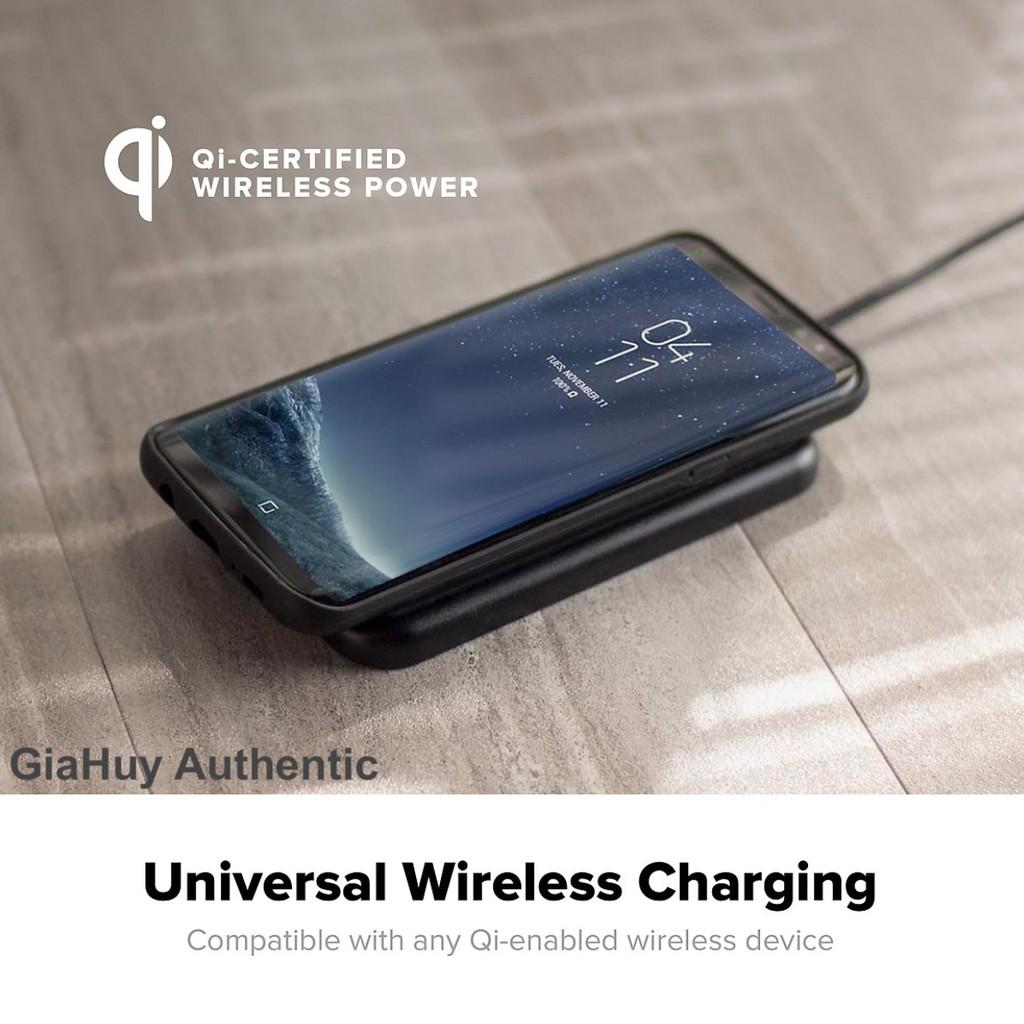 Đế sạc không dây iPhone Samsung MOPHIE Charge Force Wireless Charge Pad 5W - chuẩn Qi