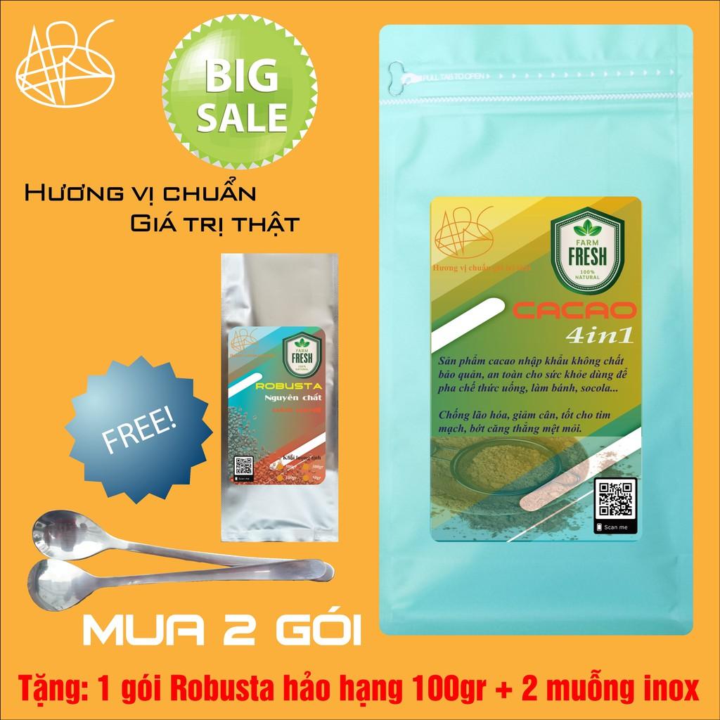 CACAO sữa 4in1 500gr - ARC COFFEE&