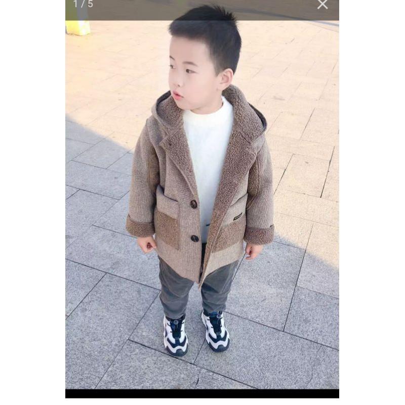 Áo dạ thời trang cho trẻ 115cm nặng 20kg