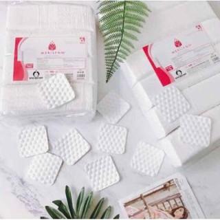 Bông tẩy trang Merilynn hạt Massage 1kg - Bông bạch tuyết