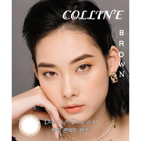 COLLINE BROWN - Kính áp tròng Hàn Quốc