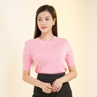 Áo len hồng tay lỡ thiết kế Elise thumbnail
