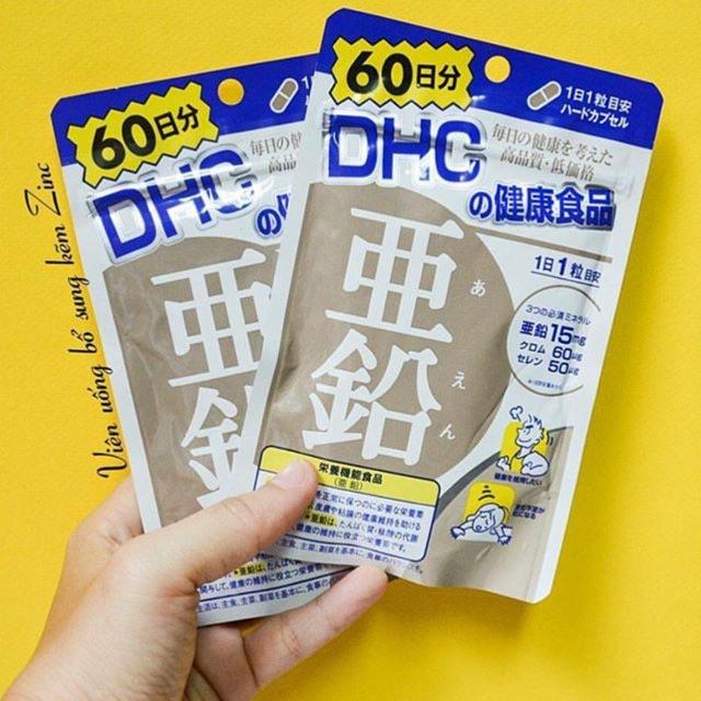 Viên uống bổ sung kẽm Zinc DHC - 2498202 , 275047887 , 322_275047887 , 260000 , Vien-uong-bo-sung-kem-Zinc-DHC-322_275047887 , shopee.vn , Viên uống bổ sung kẽm Zinc DHC