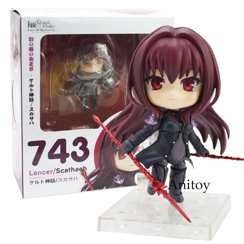 Nendoroid 743 Fate Grand Order Lancer Scathach Action Figure Collectible Toy