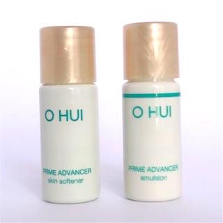 Cặp Nước Hoa Hồng Và Sữa Dưỡng Trắng Căng Bóng Da Ohui Prime Advancer 5ml thumbnail