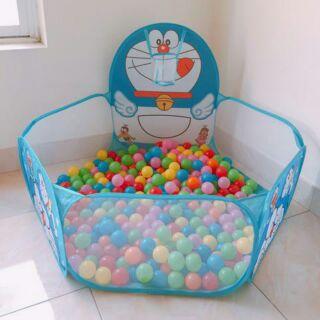 Nhà bóng tặng kèm 100 bóng cho bé thỏa sức vui đùa