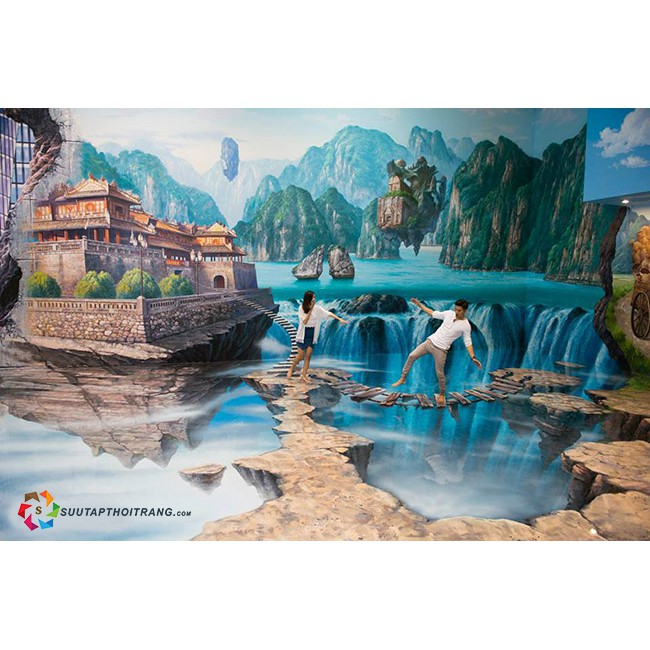 HCM [E- Voucher] 6 vé Chụp Hình Tại Bảo Tàng Tranh 3D Artinus Duy Nhất Tại VN
