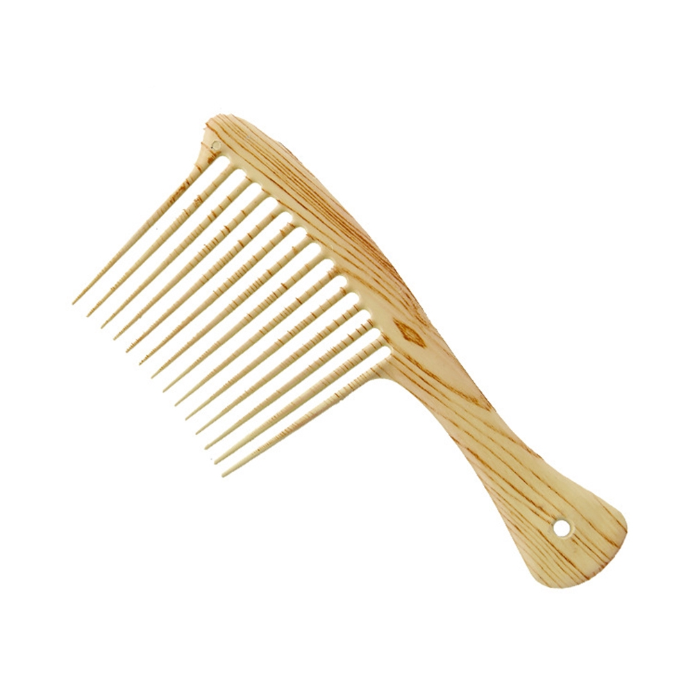 Smooth Wide Tooth Lightweight Eco Friendly Handmade Portable Home Use Styling Tool Comb
