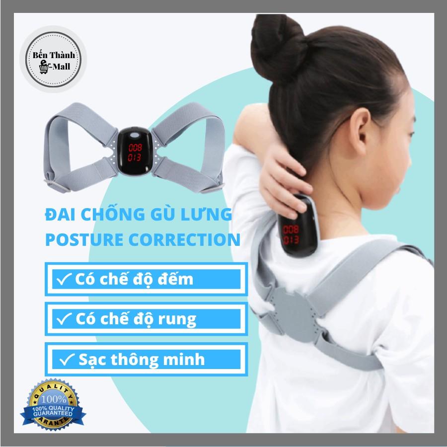 ✈️[Freeship] Đai chống gù lưng Posture Correction điện tử [Màn LED bản cao cấp nhất]