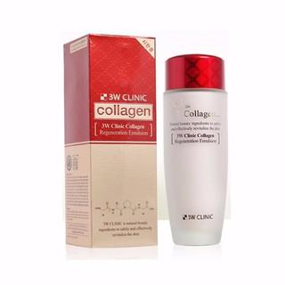 Nước Hoa Hồng Dưỡng Trắng Da Chống Lão Hóa 3W Clinic Collagen Regeneration Softener 150ml thumbnail