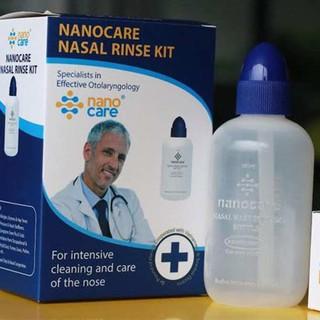 Bình rửa mũi Nano Care – an toàn, sạch sẽ
