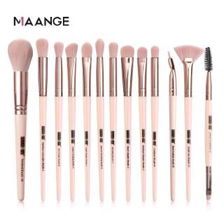 Hình ảnh MAANGE Bộ 13 Cọ Trang Điểm Sử Dụng Chuyên Nghiệp Make up Brush Set-0