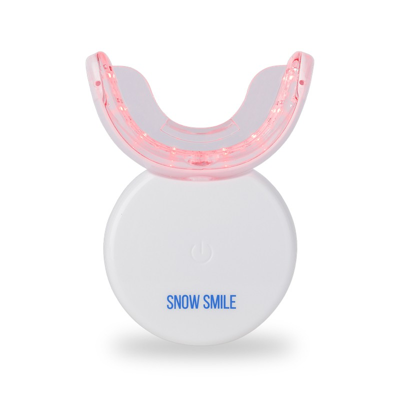 Snowsmile Set Máy ngậm trắng răng dùng được cho răng nhạy cảm (Tặng kèm serum chống ê buốt răng)