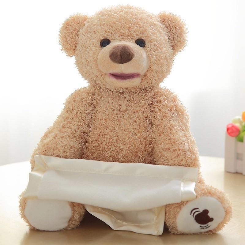 Đồ Chơi Hình Gấu Nhồi Bông Xinh Xắn Đáng Yêu