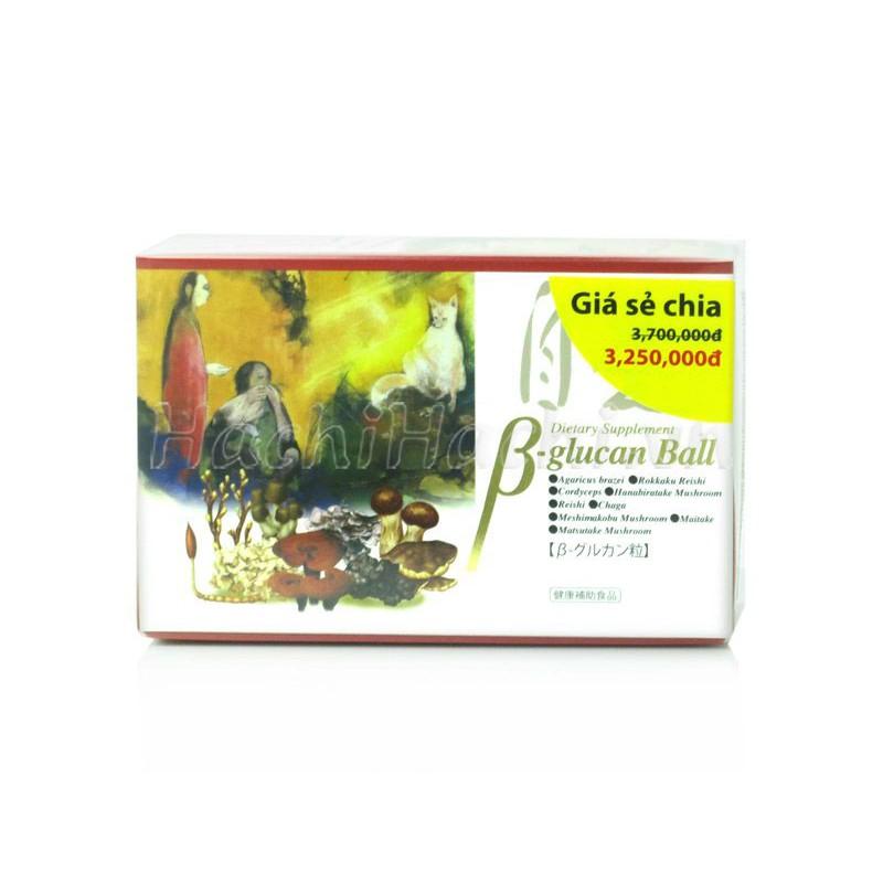 Thực phẩm chức năng Beta Glucan Ball 60g (30 gói) - 2936239 , 1199656219 , 322_1199656219 , 3250000 , Thuc-pham-chuc-nang-Beta-Glucan-Ball-60g-30-goi-322_1199656219 , shopee.vn , Thực phẩm chức năng Beta Glucan Ball 60g (30 gói)