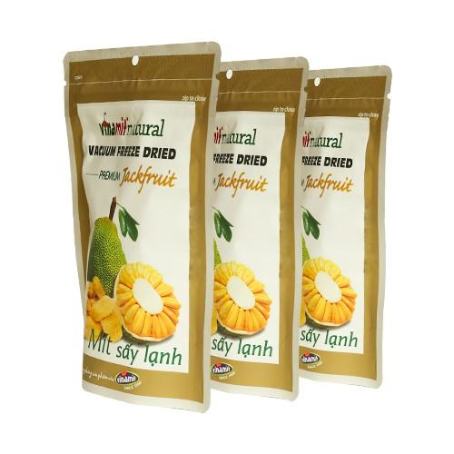 [Mã FMCGM25 - 10% đơn 150K] Mít sấy lạnh Vinamit 30g