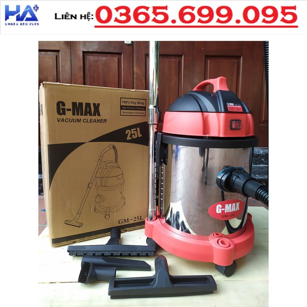 Máy Hút Bụi Gmax 2000W GM 25L