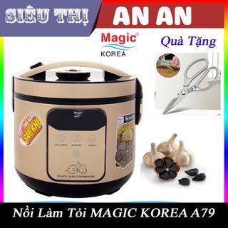 Máy Làm Tỏi Đen Magic Korea, Máy Làm Tỏi Đen 12 – 15 ngày lên men (Model A79) 4 Lít Có Khay Tỏi đen cực ngon