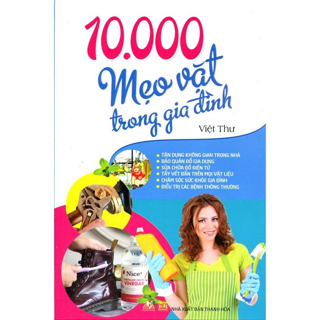 Sách - 10.000 Mẹo Vặt Trong Gia Đình