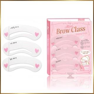 Khuôn kẻ lông mày Mini Brow Class bộ 3 kiểu BC3 thumbnail