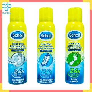 Xịt Khử Mùi Hôi cho Giày và Chân Scholl Fresh Step lọ 150ml [Chính Hãng – Hàng nội địa Authentic Đức]