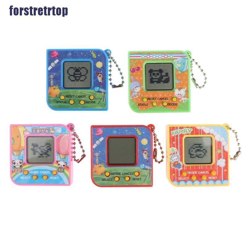 【FSTTTOP】90S Nostalgic 168 pets virtual cyber pet toy tamagotchi electronic pe