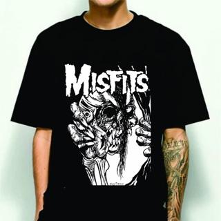 Áo Thun In Hình Nhóm Nhạc Misfits Cá Tính Hợp Thời Trang