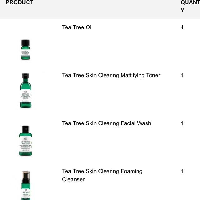 Trả hàng- The body shop Mỹ tea tree oil và lip balm - 3571169 , 1042659806 , 322_1042659806 , 180000 , Tra-hang-The-body-shop-My-tea-tree-oil-va-lip-balm-322_1042659806 , shopee.vn , Trả hàng- The body shop Mỹ tea tree oil và lip balm