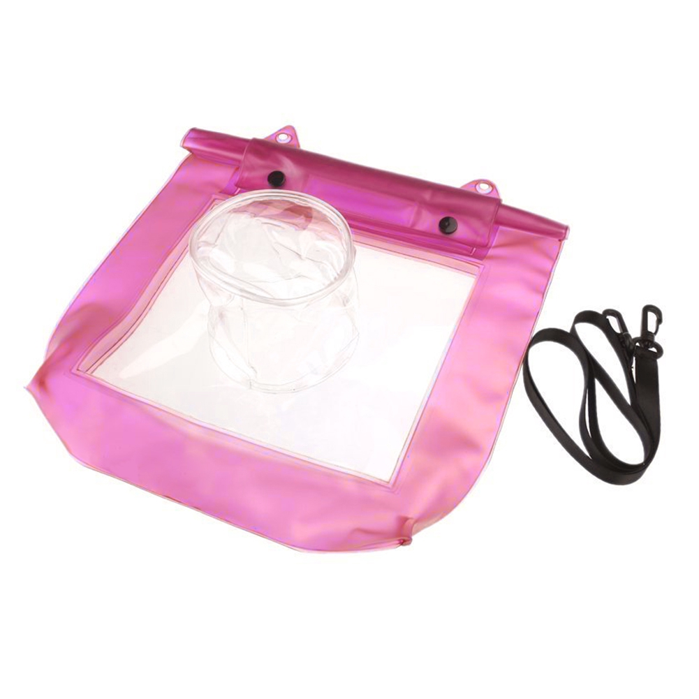 Water Sports Protect Tape Sealing Snap Fastener Camera Use Portable PVC Storage With Strap Transparent Waterproof Bag