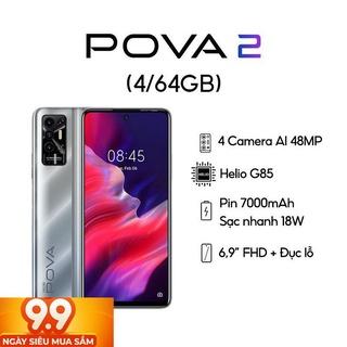 [Rẻ Vô Địch ] Điện thoại TECNO POVA2 (4GB+64GB) – Hàng chính hãng