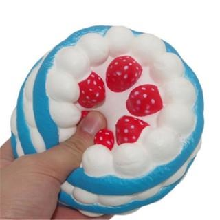 Đồ chơi bóp Squishy hình bánh kem dâu có mùi thơm shop vietvan02