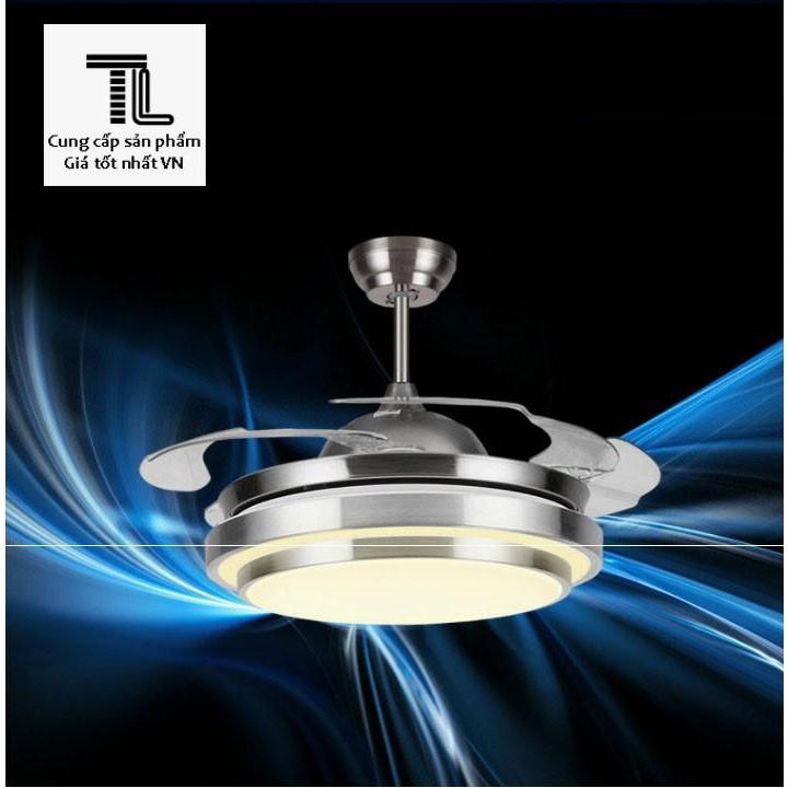 Quạt trần có đèn led Cao cấp Tiết kiệm điện (có remote, bộ điều khiển)... Giá hot
