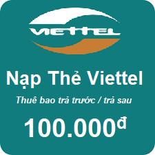 Thẻ cào Viettek 100k
