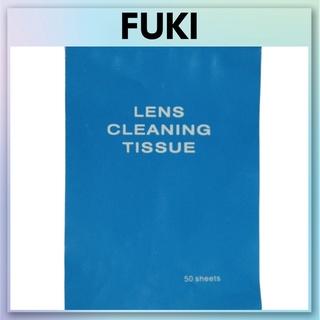 Giấy lau ống kính lens máy ảnh Tissue, giấy lau màn hình mặt kính siêu sạch chống trầy xước 7,5x10,5cm FUKI PKMA3 thumbnail